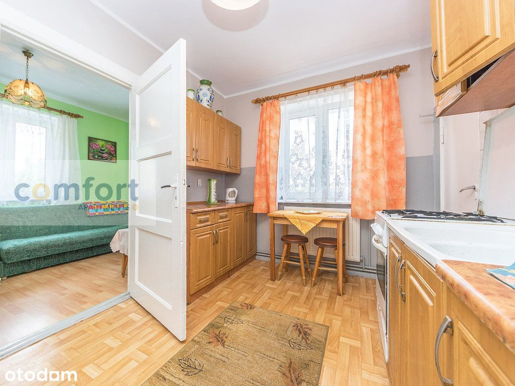 al. Grunwaldzka, 2 pokoje, 40m2, I piętro