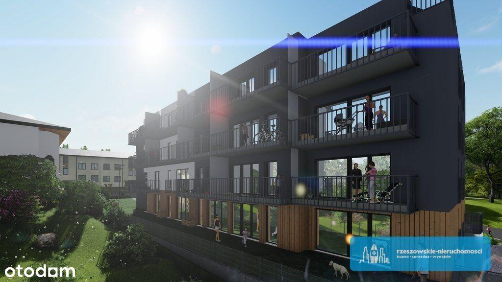 60m2 II piętro Cztery pokoje Taras 17,5 m2 Załęska