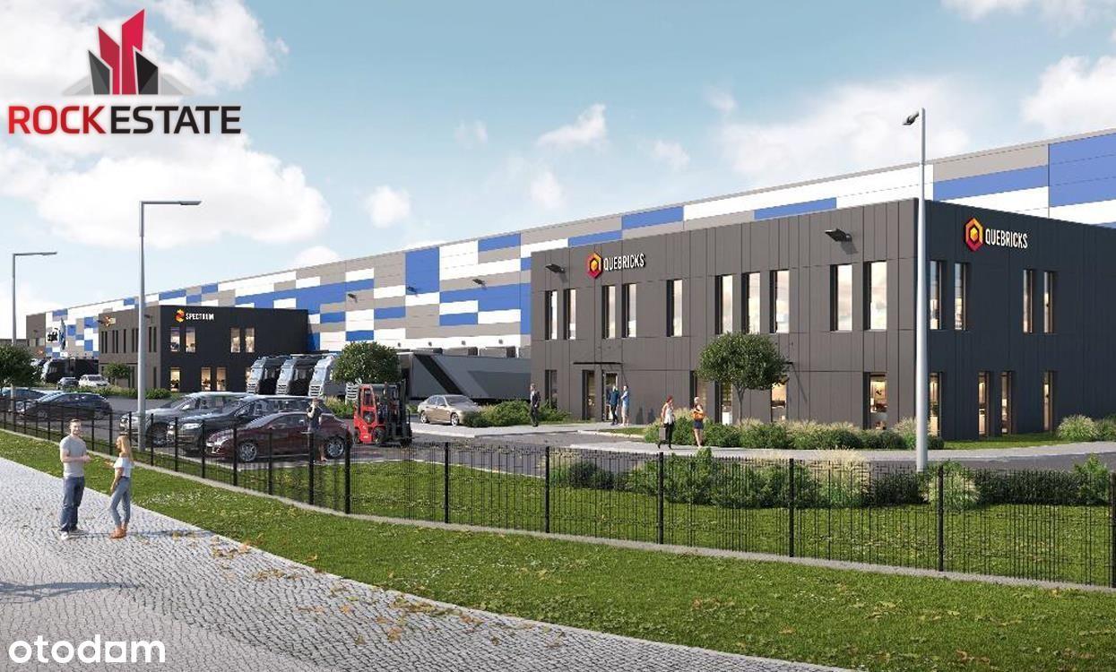 Nowoczesny magazyn 2700 m2 - Łodź przy A1