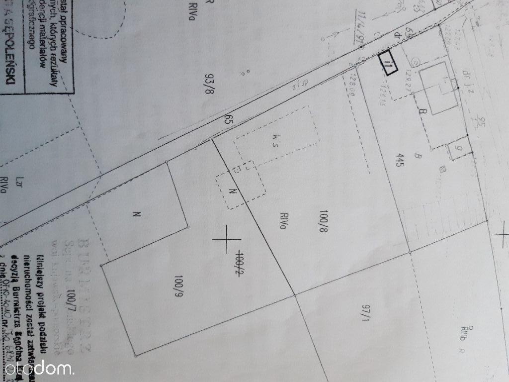 Działka budowlana 2457m. Chmielniki