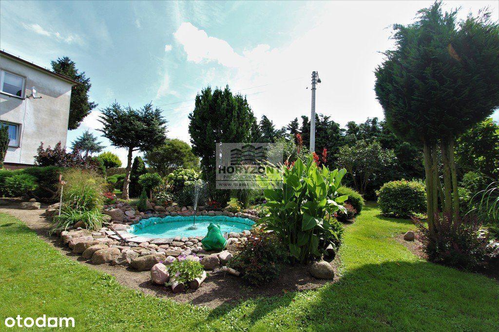 Dom na wsi, piękny ogród, staw, działka 12799m2