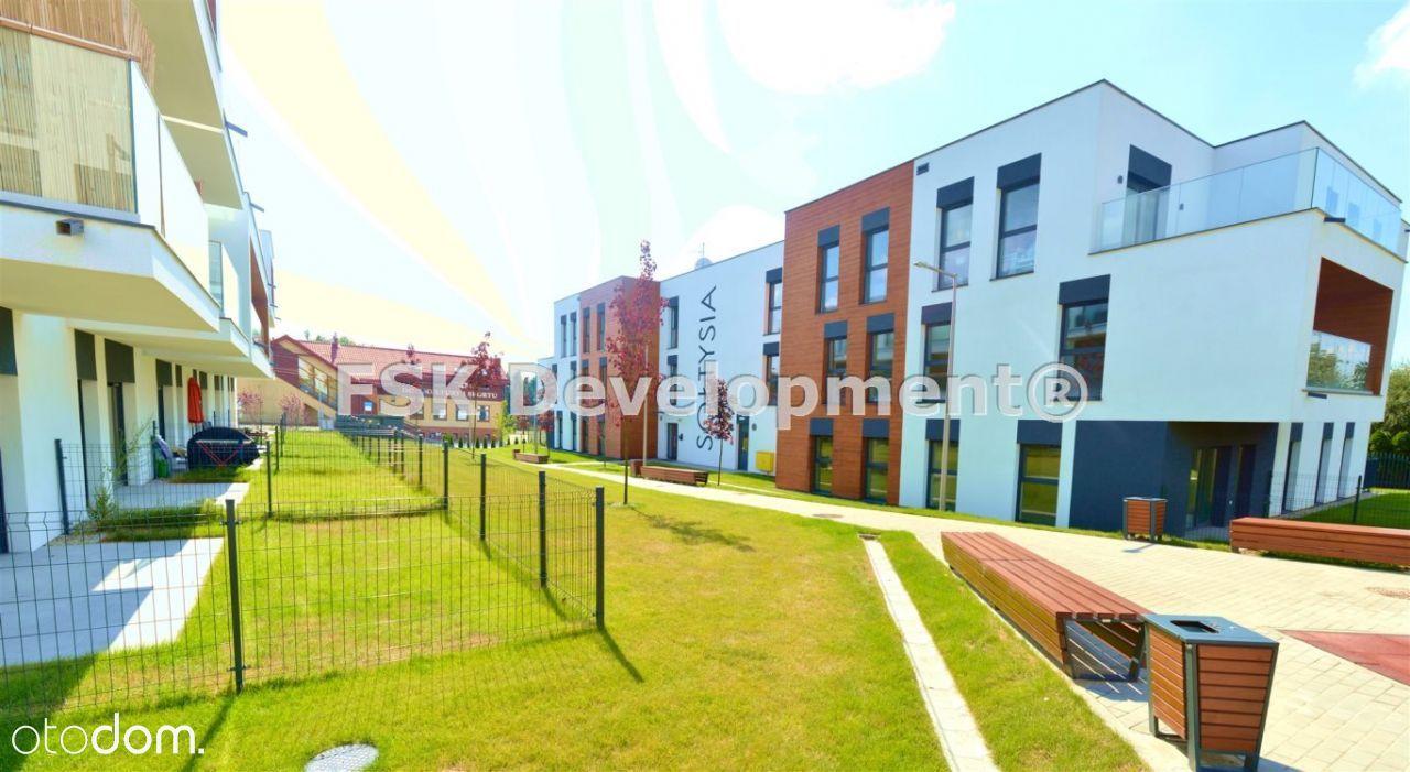 Apartament 54,85 m2+taras 8,1 m2+gródek 24,05 m2!