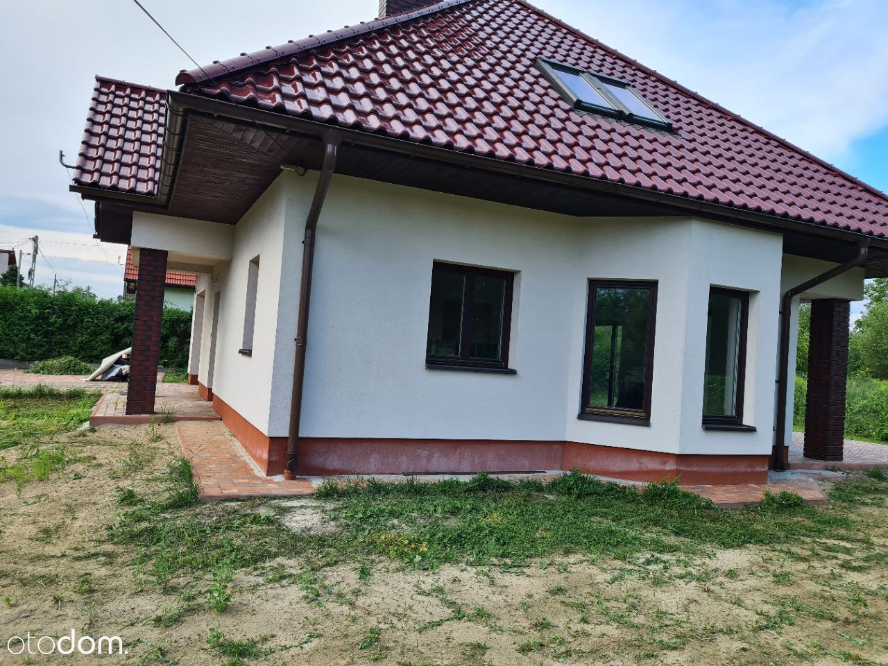 Dom z ogródkiem Bieżanów 4 pokoje ul Przylaszczki