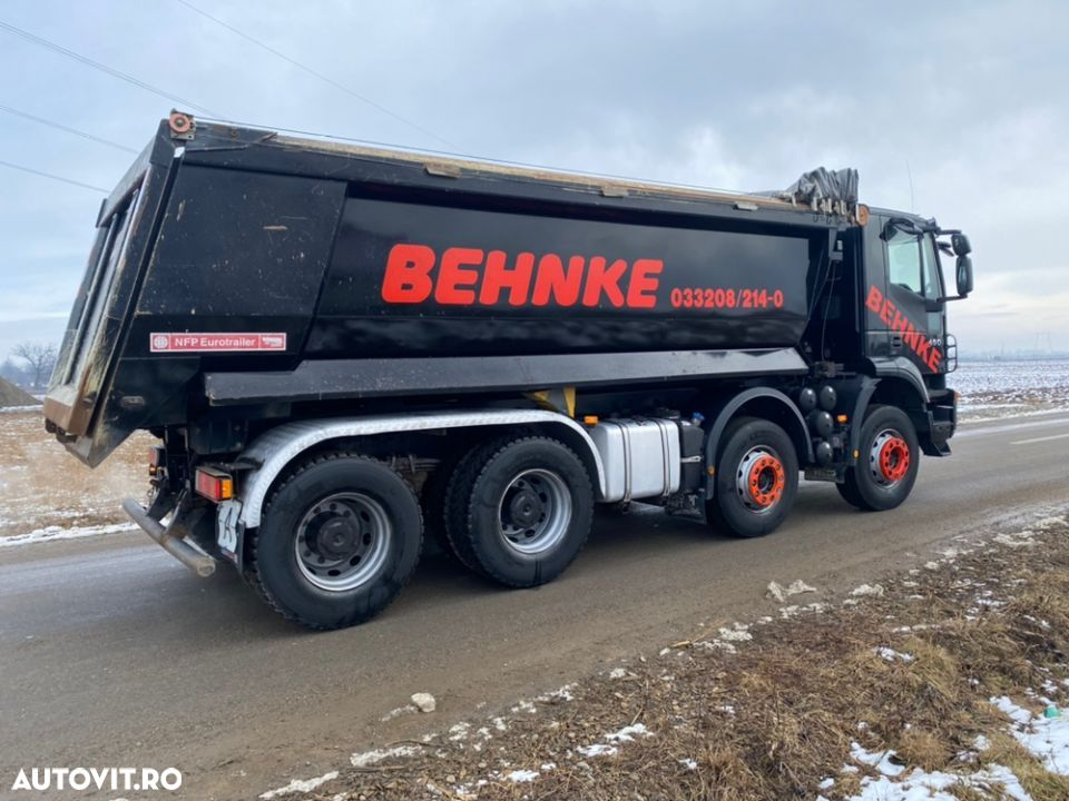 Iveco 8x4 man Iveco DAF - 9