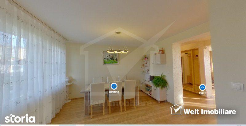 Apartament de 4 camere, ultrafinisat, terasa, 165 mp, parcare, Andrei