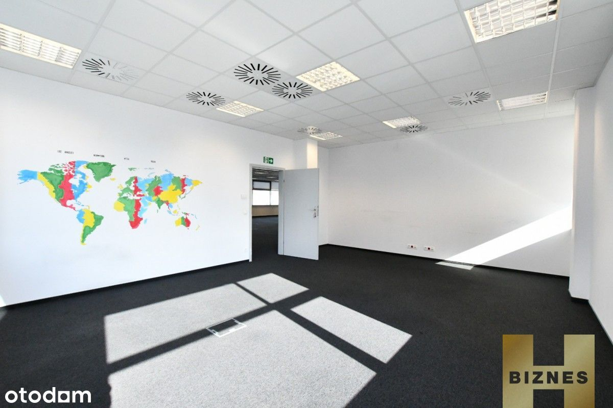 Powierzchnia open space + biura - klasa A