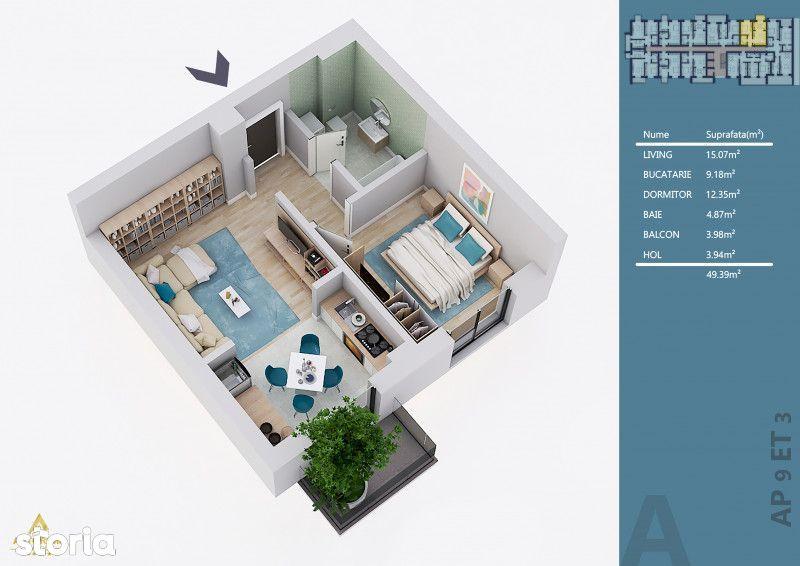 ASTORIUM MY HOME - APARTAMENT 2 CAMERE STUDIO