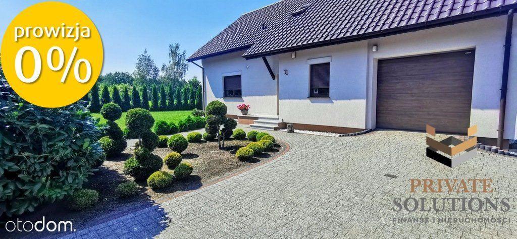 Piękny dom pod Wrocławiem/gaz/kanalizacja/garaż
