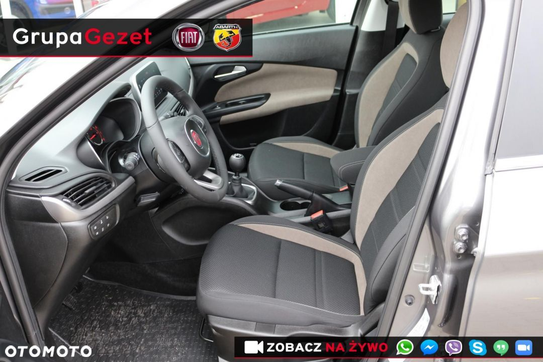 Fiat Tipo LOUNGE 1.4 16v 95KM Szary Colosseo - 6