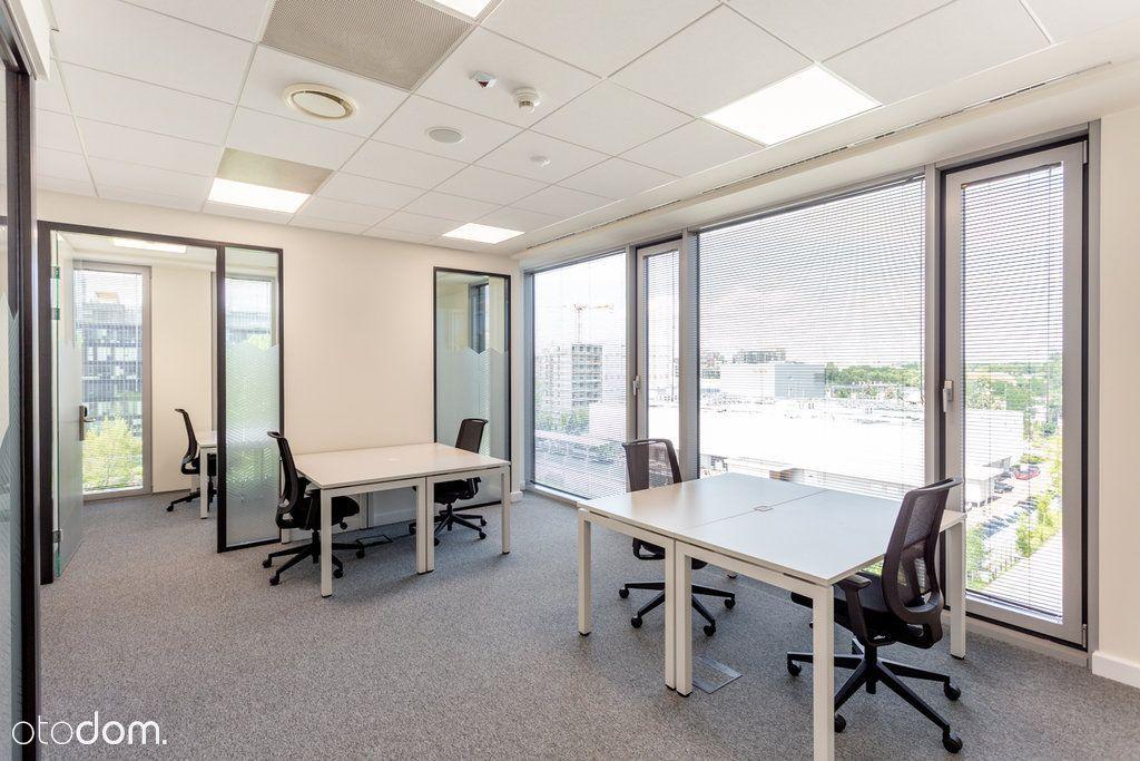 Wyposażone biuro dla 13 osobowego zespołu