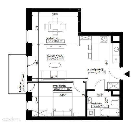 Mieszkanie dla par/rodzin, Węglinek, od dewelopera