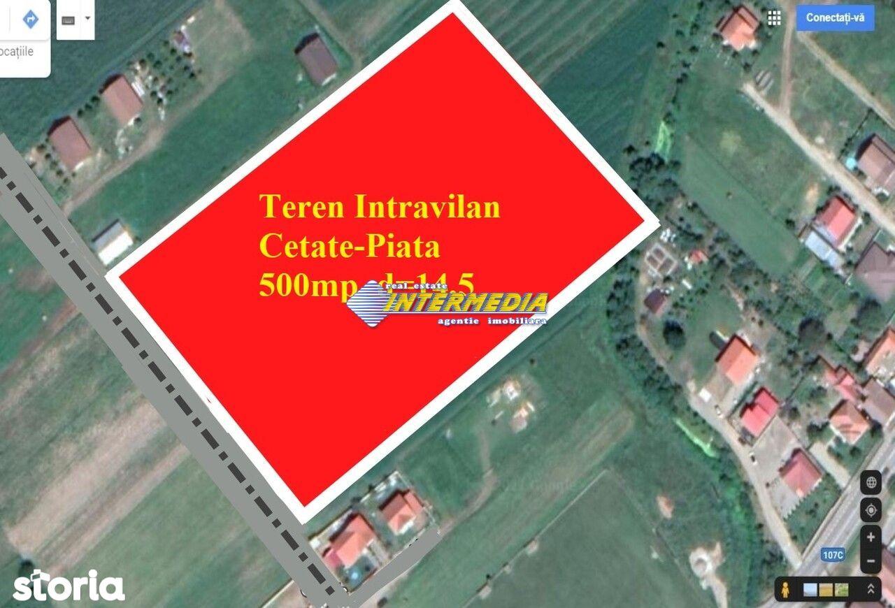 Teren Intravilan 500mp Piata-Cetate