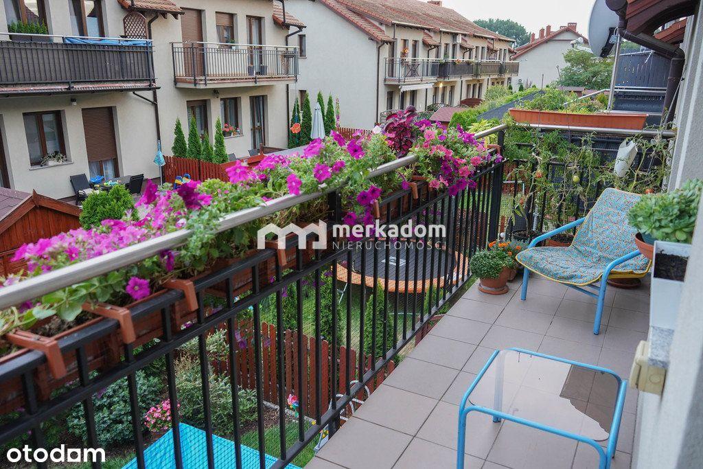 —4 pokoje w Czapurach—balkon—garaż—