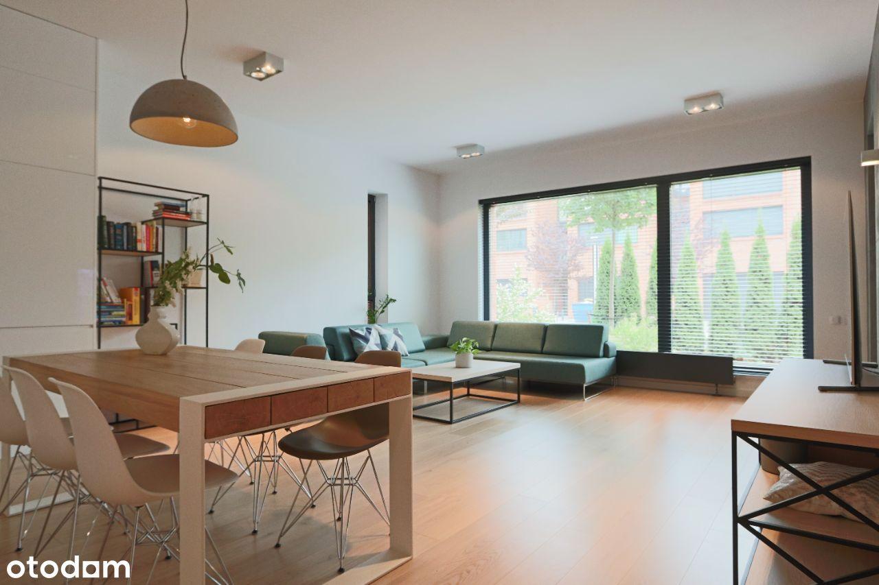 Przestronny, luksusowy apartament nad stawem