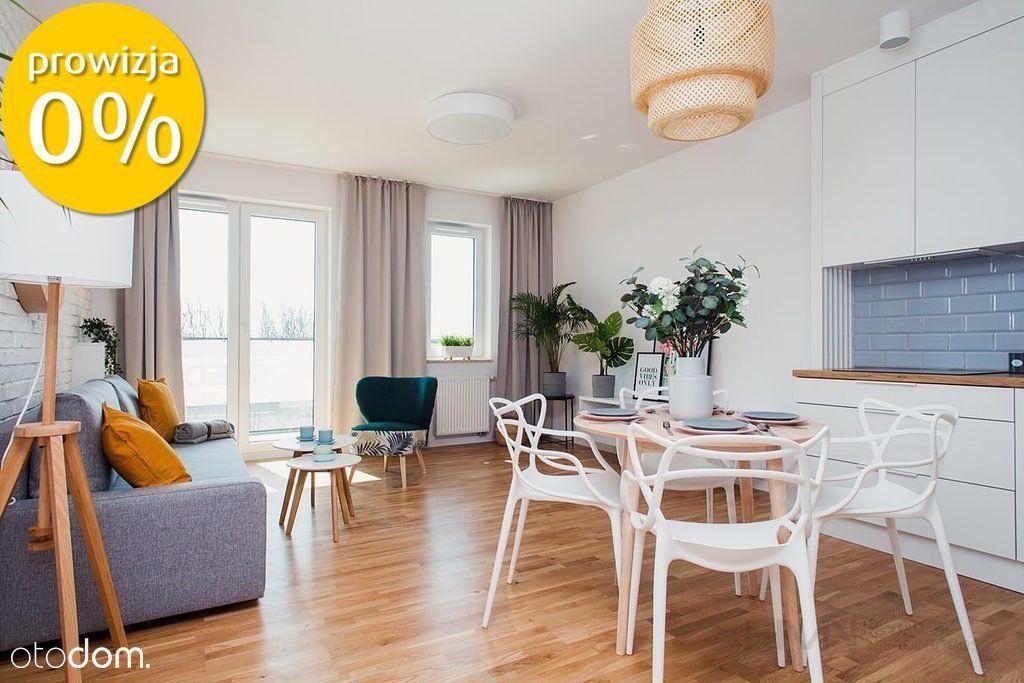 Słoneczne mieszkanie 3 pokojowe z balkonem