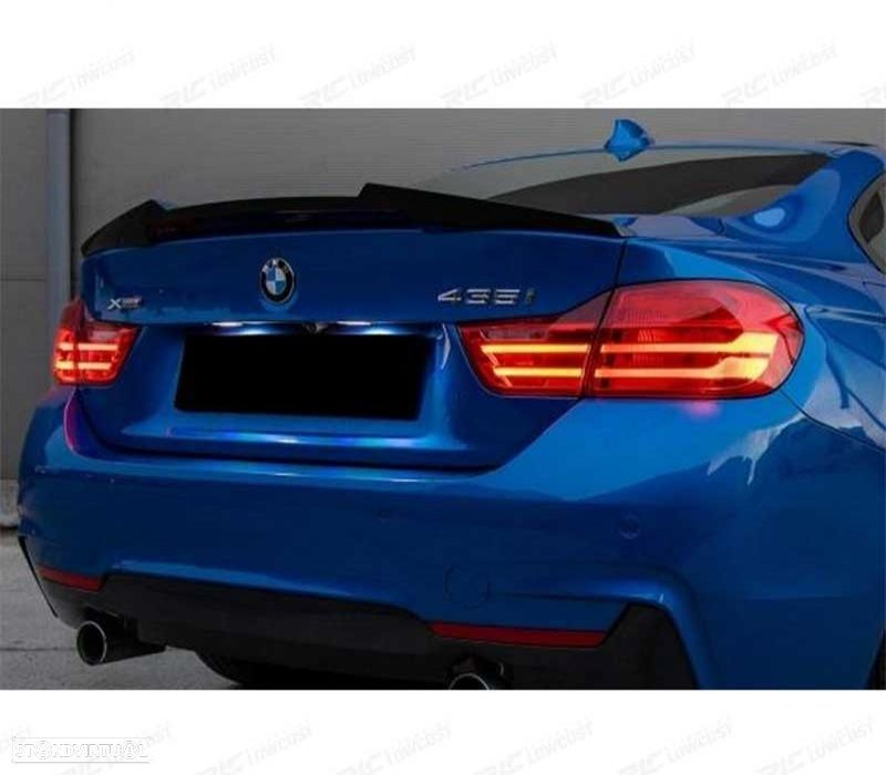SPOILER LIP BMW SERIE 4 F32 13-18COUPE LOOK M4 - 2