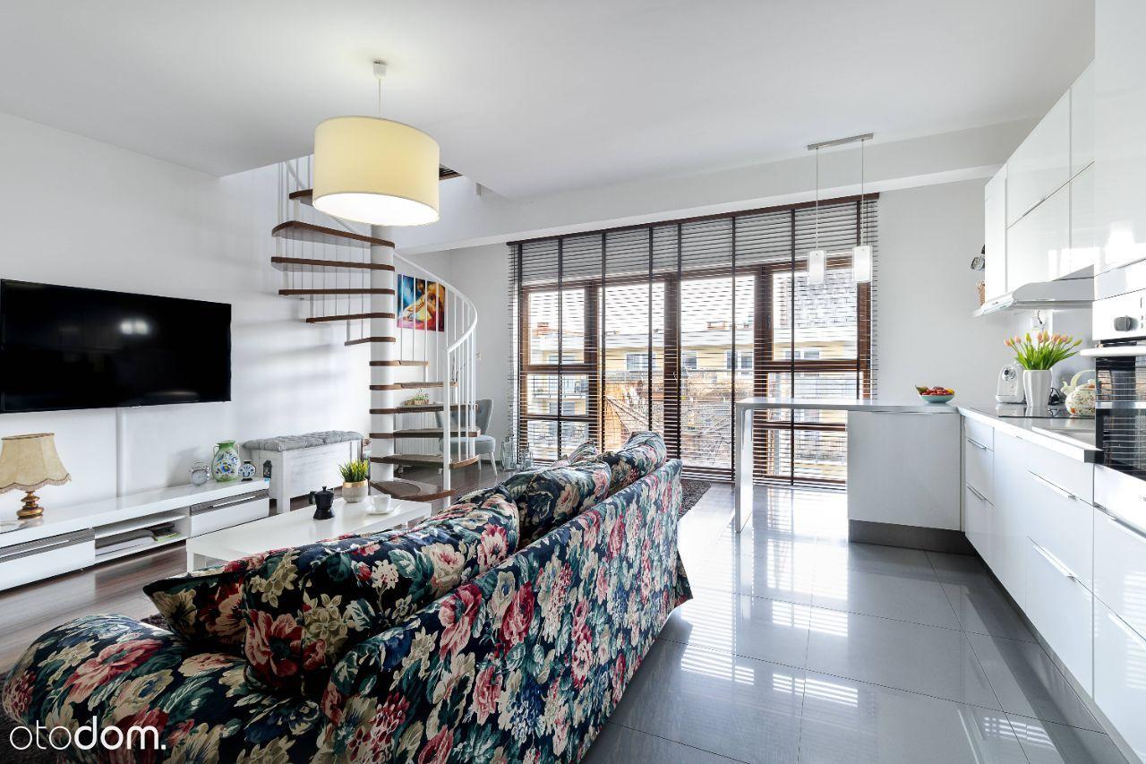 Klimatyzowany dwupoziomowy apartament w Koszalinie