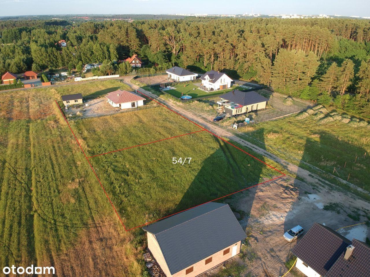 Działka budowlana Chwalęcice - blisko lasu 16,5 Ar
