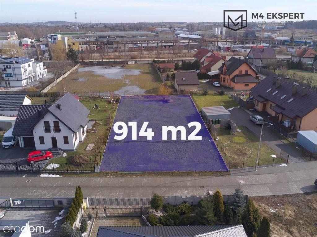 Działka 914 m2 - 200m od szkoły i przedszkola