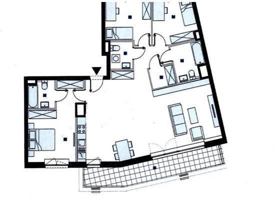 Nowoczesny apartament z tarasem na Mokotowie