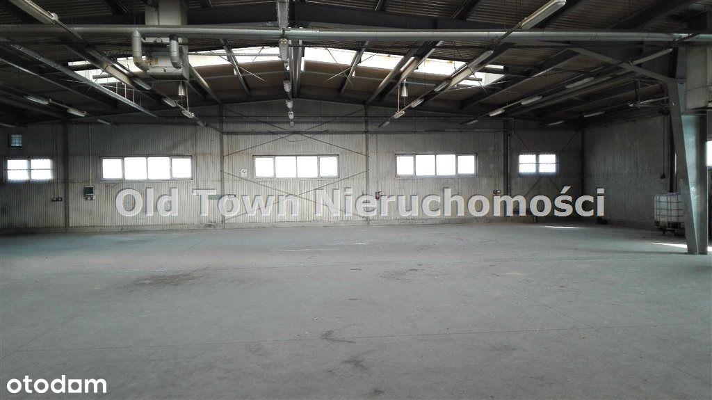 Budynek magazynowo produkcyjny 1300 m2