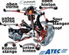 Kit 12 brate Audi A4 B6 B7 8E, A6 4B C5, VW Passat 3BG B5 HD-VERSION - 8