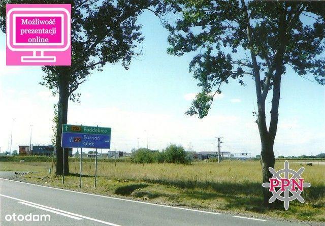 Działka inwestycyjna przy autostradzie - 10 243 m²
