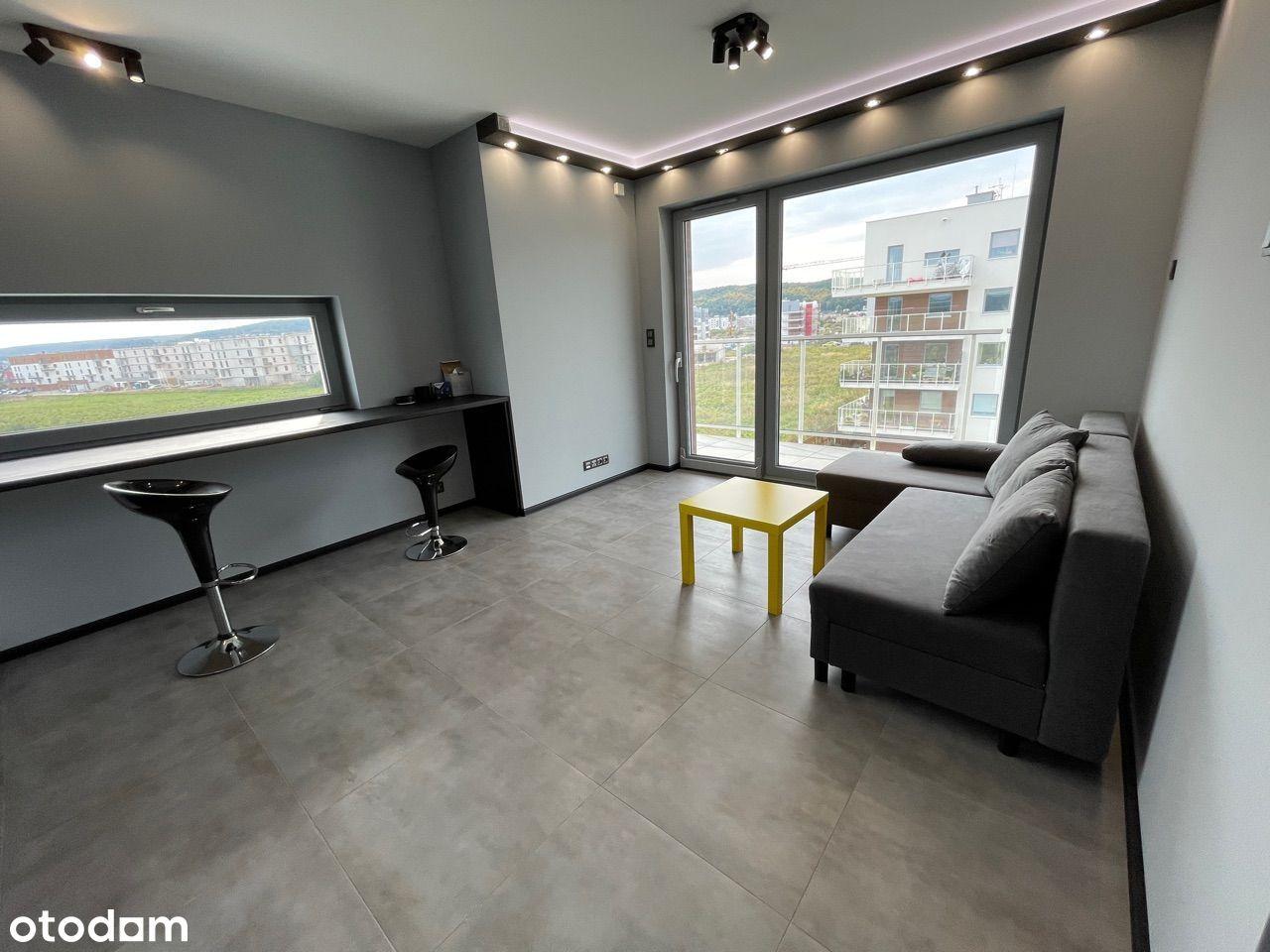 Całkowicie nowe mieszkanie do wynajęcia Rumia