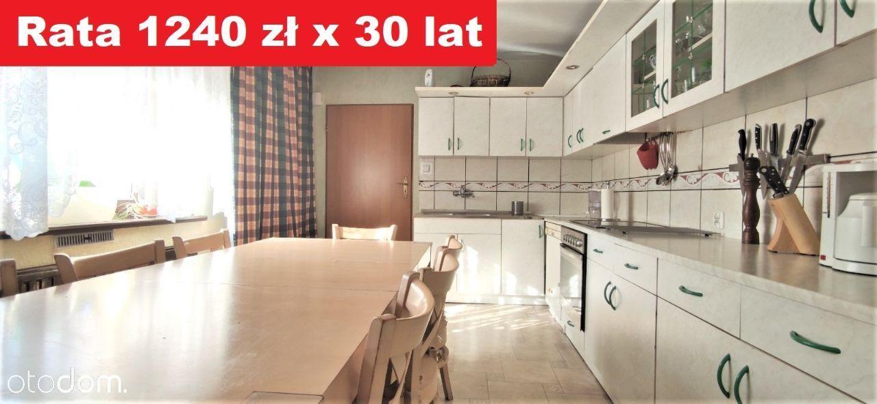 Dom 1240 zł/m-c,120m z sadem, działką, sklepem.