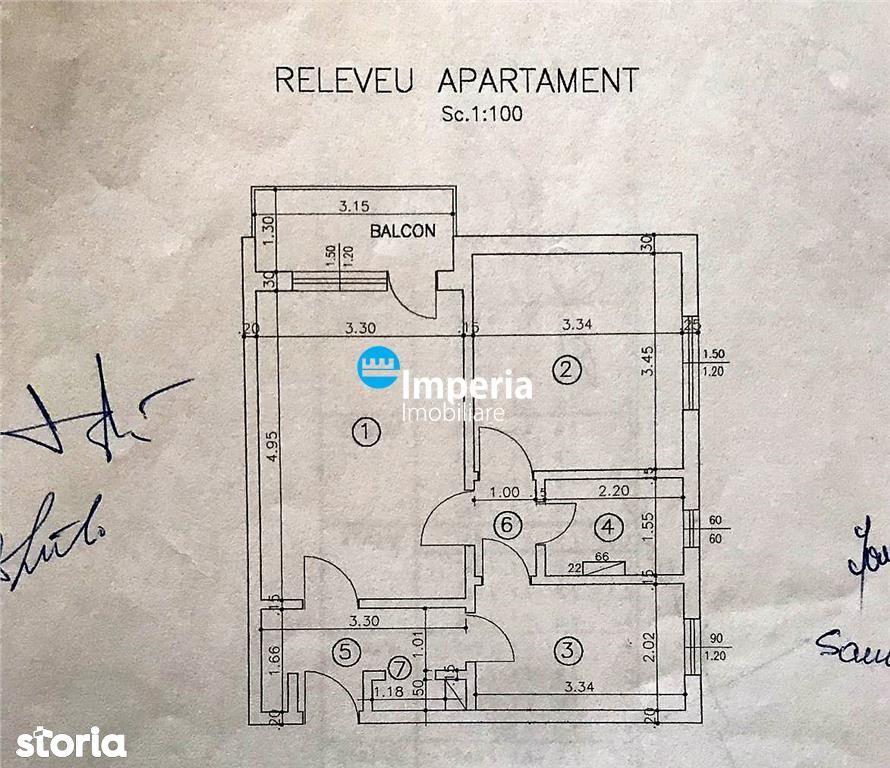 Apartament cu 2 camere de vanzare in zona Tudor Vladimirescu