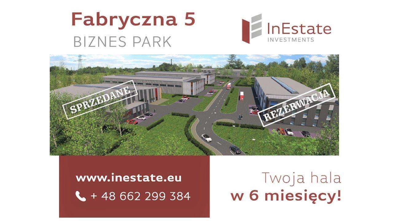 M Fabryczna 5a Teren + budowa hali - Polecam!