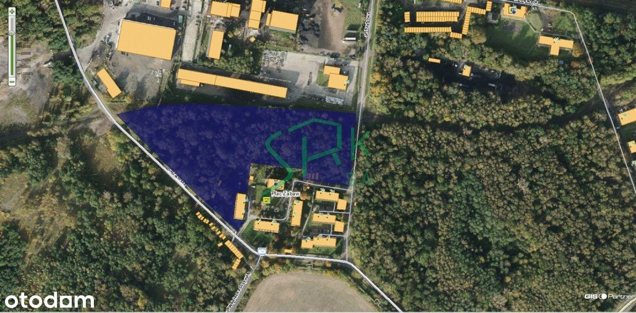 Działka, 28 074 m², Zabrze