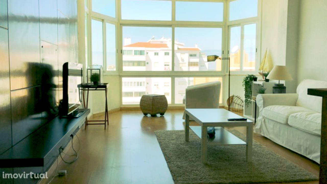 Apartamento na Pampilheira com vistas de mar e serra