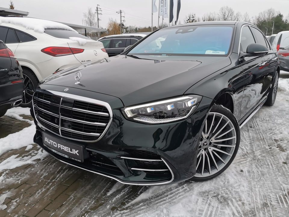 S400d 4Matic Long, Business Class, Pakiet Chauffeur, Exclusive