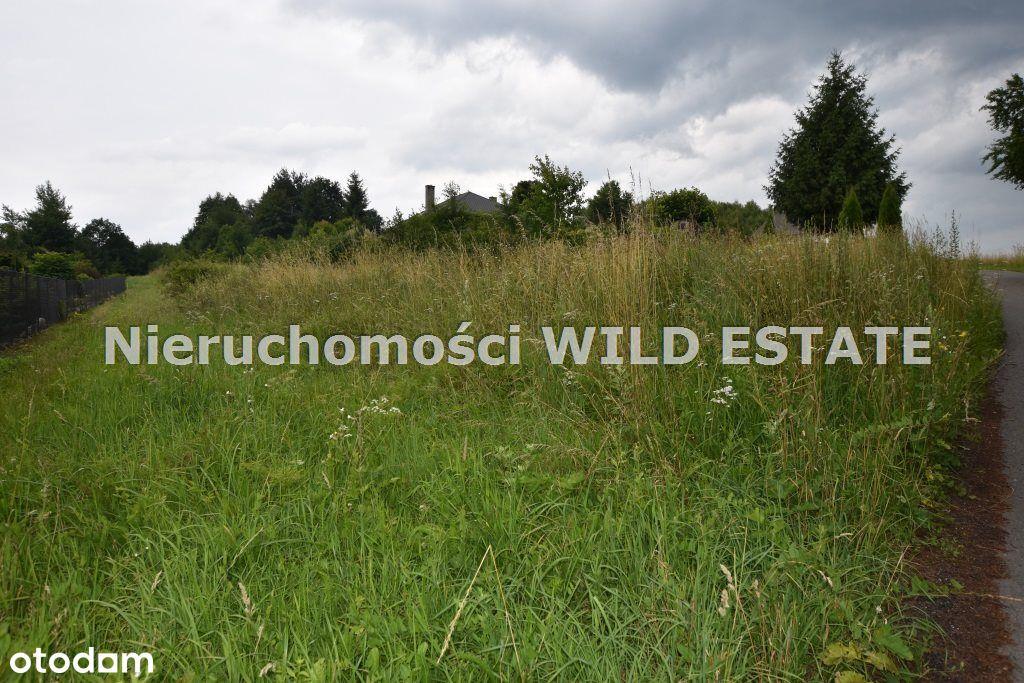 Działka, 1 076 m², Lesko