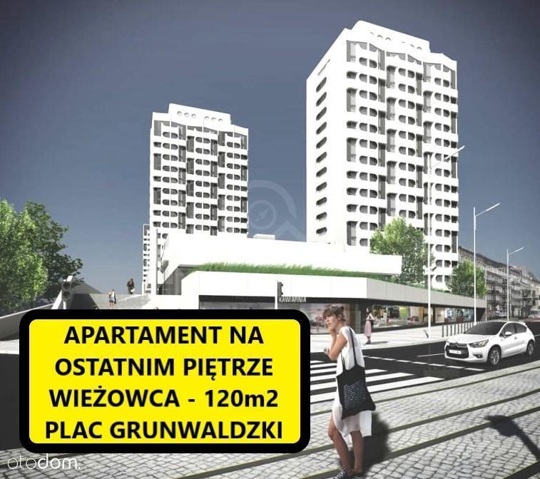 Apartament na szczycie wieżowca - 120m2