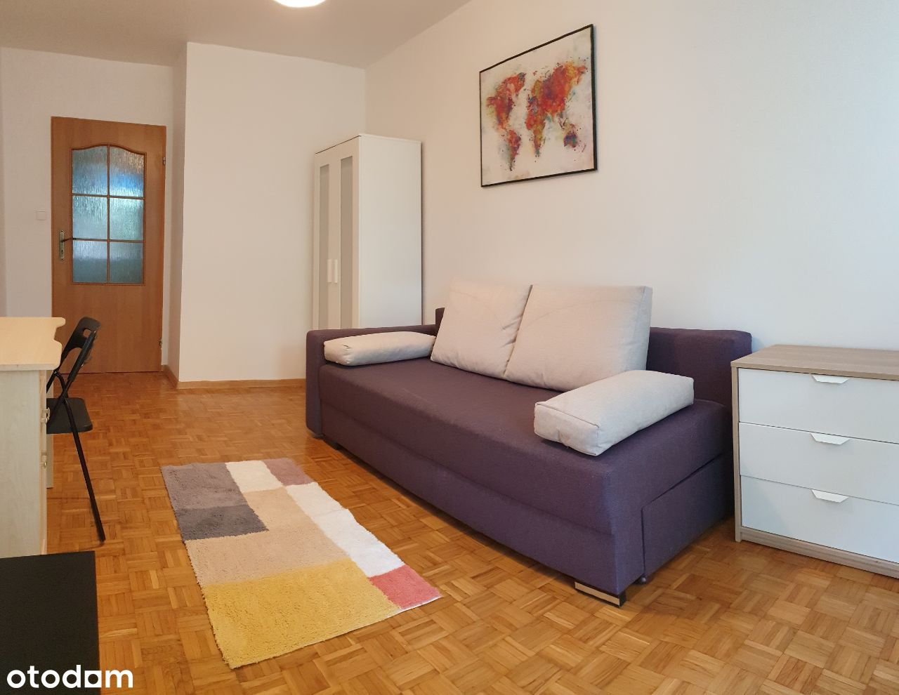 Duży pokój 1os. róg Legnicka/Zachodnia/McDonalds