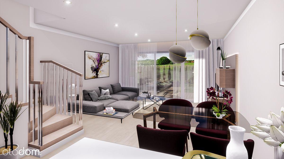 Nowy apartament z ogrodem, plus poddasze 25m2