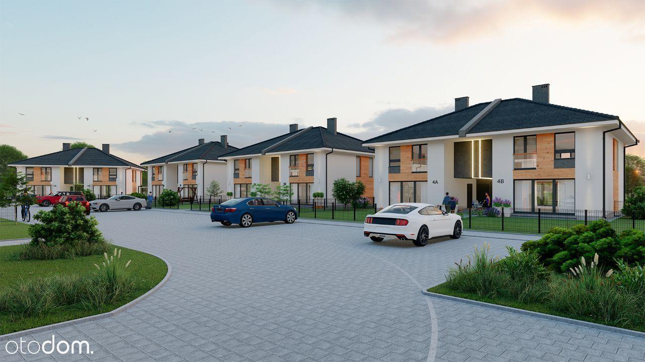 Dwupoziomowe mieszkanie 72,6m2 z dużym ogrodem