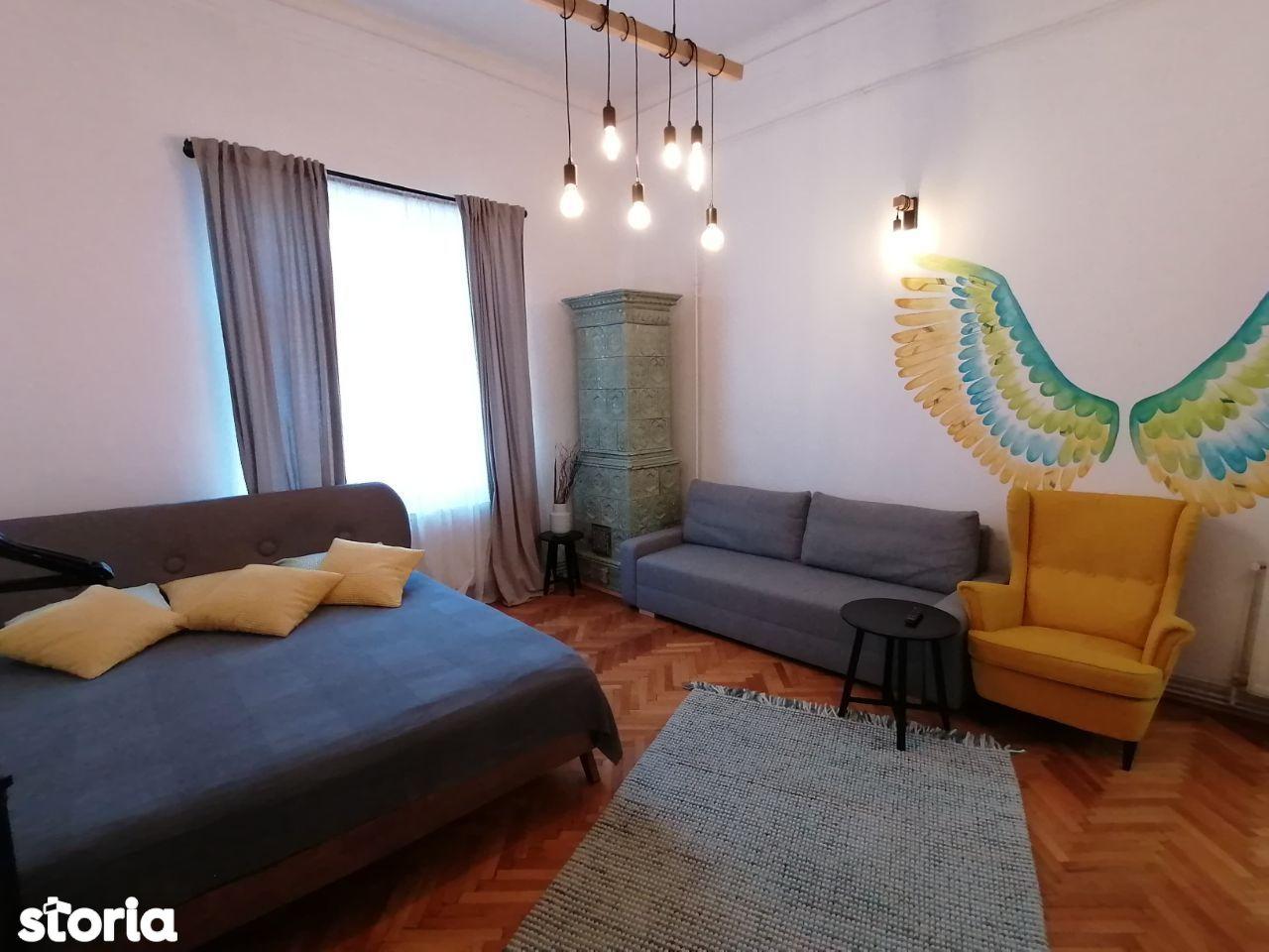 Apartament cu 2 camere in Centrul Istoric, Str. Muresenilor
