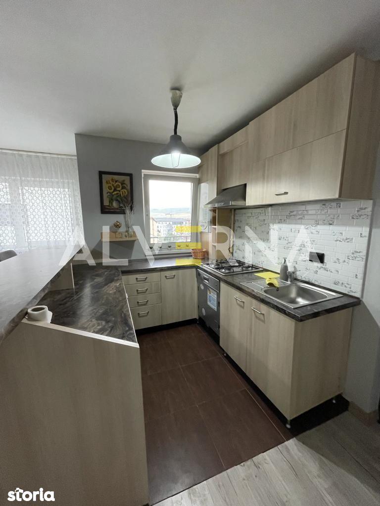 Apartament 2 camere, 44mp, mobilat, balcon, parcare, zona Stejarului