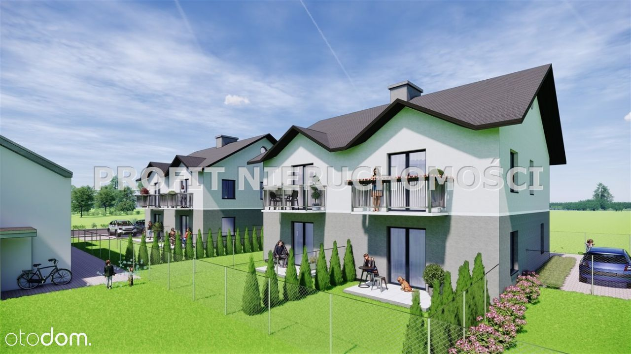 III etap- apartamenty bezczynszowe z ogrodem