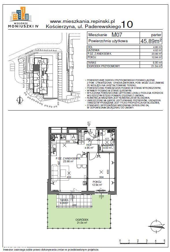NOWE mieszkanie 2 pokoje #własność#Las#ogródek