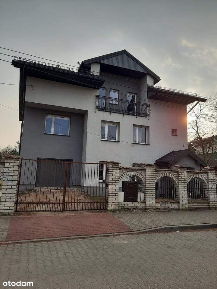 Dom z 3 mieszkaniami +druga nieruchomość na biznes