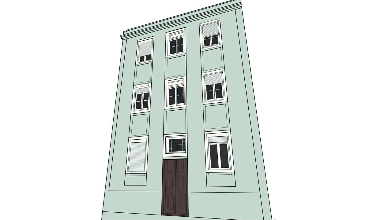 Prédio para Rendimento - 6 fracções arrendadas na Penha de França