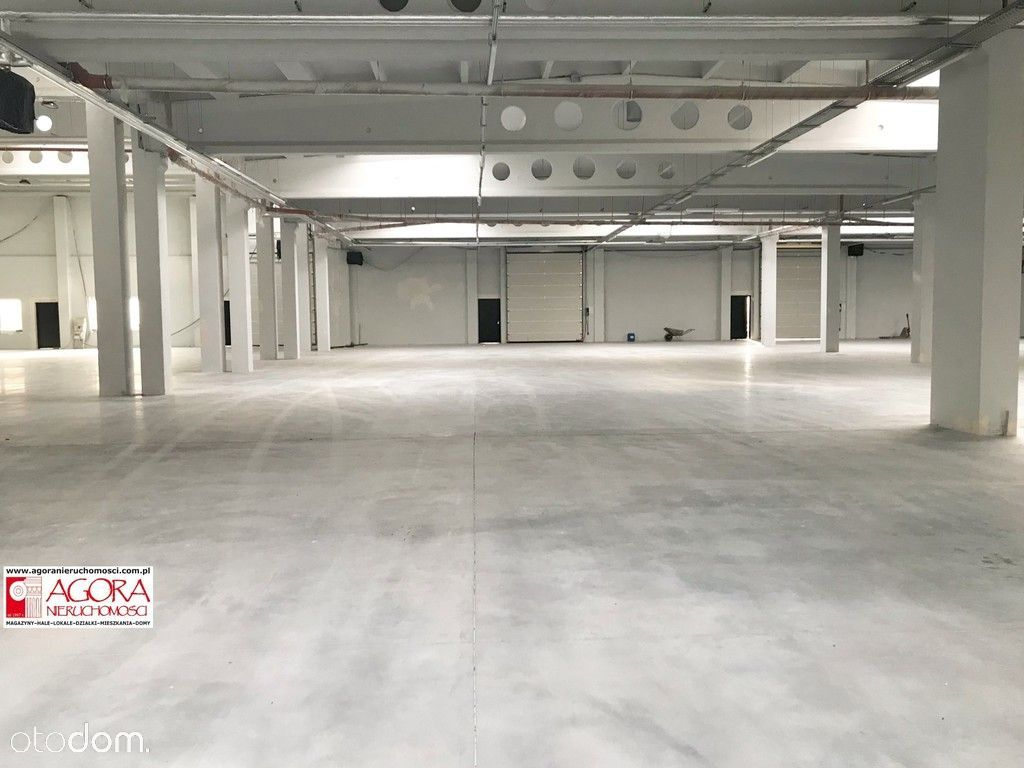 Rybitwy Hala Produkcja Magazyn ok. 1350 m2,