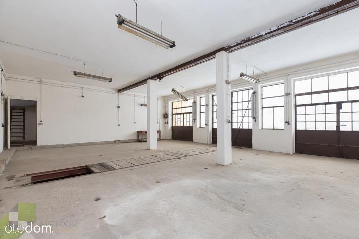 Działka 1667 m2, budynek usługowo – gospodarczy i