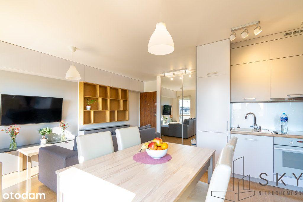 Piękne mieszkanie 3-pok - dwupoziomowe, umeblowane