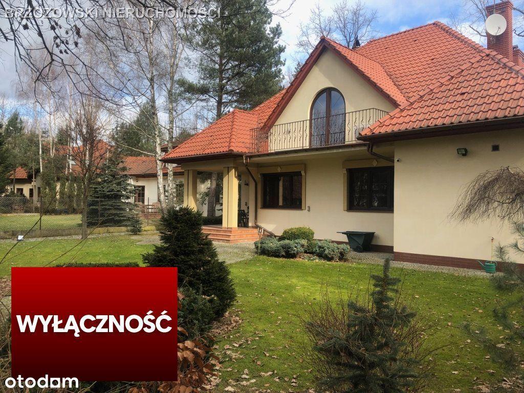 Aleksandrów, dom z piękną działką, tuż przy lesie