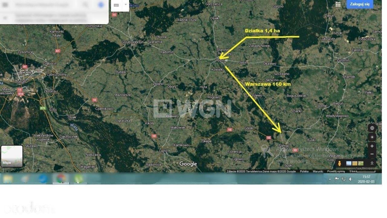 Rypin - działka inwestycyjna 1,04 ha